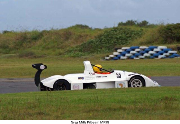 Pilbeam Racing MP98 East London Border 100 2012